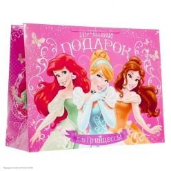 """Пакет XL 61*46*20см Принцессы """"Подарок для Принцессы"""""""