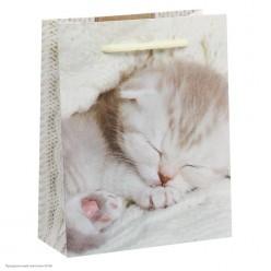 """Пакет ML 23*27*8см """"Котёнок"""" ламинат"""