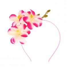 """Ободок цветочный """"Гавайская лилия"""""""