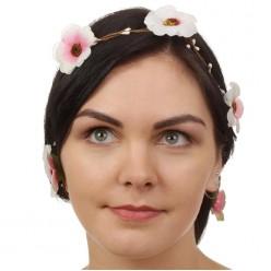 """Декор для волос вплетаемый """"Майский букет"""" 150см"""