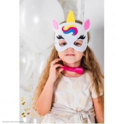 """Набор """"Единорог"""" (маска фетр, бабочка) детский"""