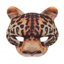"Маска ""Леопард"" (текстиль) 16*18 см"