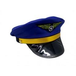 Фуражка Пилота синяя р.56