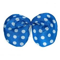 Галстук-бабочка Клоунский 30*20см (синий)