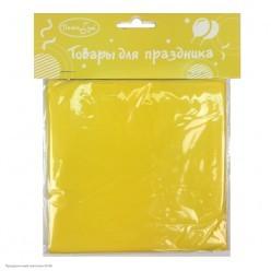 Скатерть жёлтая 121*183см (клеёнка)