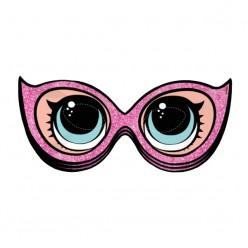 "Маска-очки для фотосессии или декора ""ЛОЛ Кукла"""
