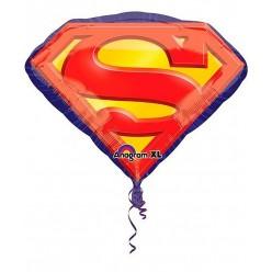 "Шар фольга ""Супермен. Эмблема"" 79*66см"