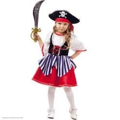 "Костюм детский ""Пиратка Сейди"" р.32, 128 см"