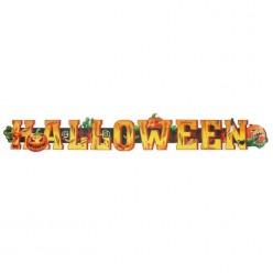 "Гирлянда-плакат ""Halloween"" 80*10см (бумага)"