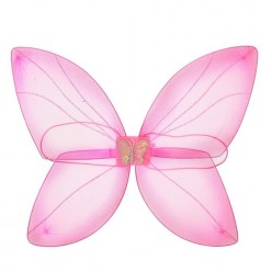 """Крылья Бабочки """"Волшебница"""" розовые 61*40,5см (капрон)"""