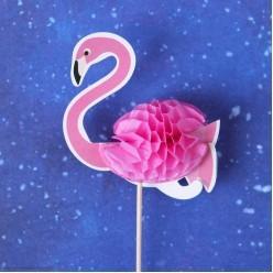 "Шпажки для канапе ""Фламинго"" объёмные 6 штук"