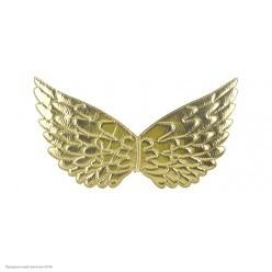 Крылышки Ангела, Единорога 42*20см (металлик) золотые