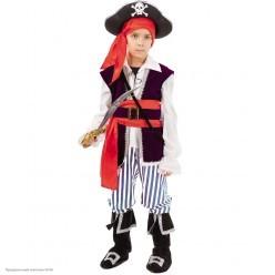 "Костюм детский ""Пират Спайк"" р.32, 128 см"