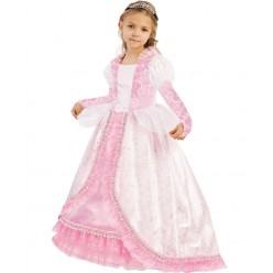 """Костюм детский """"Принцесса Золушка"""" бело-розовый р.28, 110 см"""