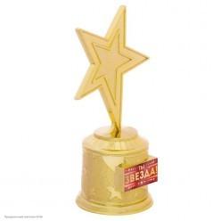"""Награда Звезда """"Ты звезда!"""" (пластик) 16,5*8,5*6,3см"""