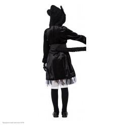 """Костюм детский """"Кошечка чёрная"""" (платье) 130-140см"""