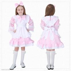 """Костюм детский """"Кукла Алиса"""" розовый 110-120 см"""