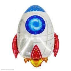 Шар фольга Ракета 74*59 см