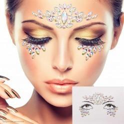 Стразы на лицо для макияжа (в ассортименте)