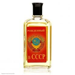 """Одеколон """"Рождённый в СССР"""" 85 мл, 13*5,5*3см"""