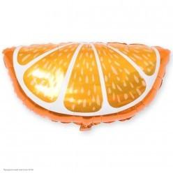 Шар фольга Долька апельсина 26''/66см