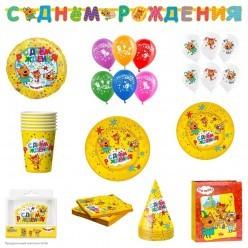 "Комплект для праздника ""Три Кота"" (12 персон)"