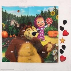 """Игра Приклей-ка """"Маша и Медведь"""" 5+"""