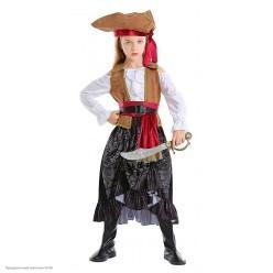 """Костюм детский """"Пиратка Стелла"""" 110-120 см"""