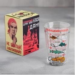 """Стакан гранёный """"Рыбацкий стакан"""" 250 мл, стекло"""