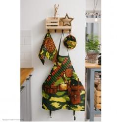 """Набор кухонный """"Генерал кухни"""" (фартук, прихватка,полотенце)"""