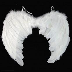 Крылья Ангела белые 60*40см (перо)