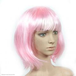 Парик Каре (розовый светлый) 30см