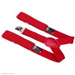 Подтяжки красные