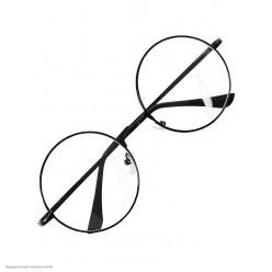 Очки Гарри Поттера, тонкая чёрная оправа (металл)