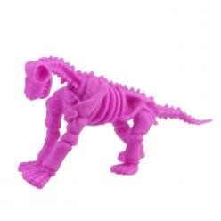 """Растушка """"Скелет динозавра"""" цвета микс 7см"""