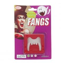 Зубы вампира (верхняя челюсть) пластик