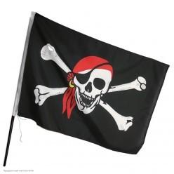 Флаг пиратский 30*45 см