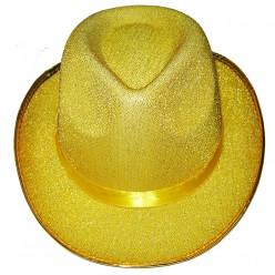 Шляпа Классика золотая
