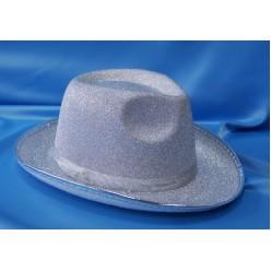 Шляпа Классика серебряная