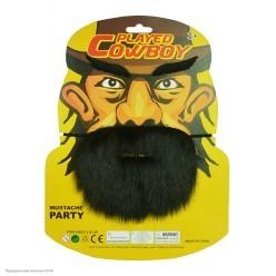 Набор Пирата: борода, усы, брови