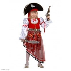 "Костюм детский ""Пиратка"" р.32, 122 см"