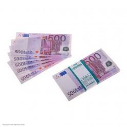 """Сувенирная Пачка денег """"500евро"""""""