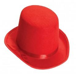 Цилиндр фетр (красный)