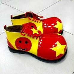 Ботинки Клоуна гигантские с большим носком