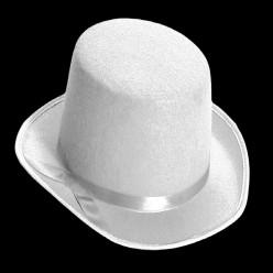 Цилиндр фетр (белый)