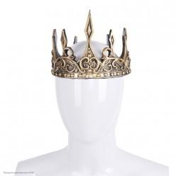 Корона короля, золотая (резина )