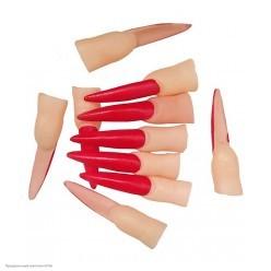 Пальцы с когтями красными 10шт (резина)