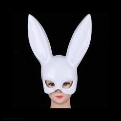 """Маска """"Кролик Банни"""", (пластик, белая)"""