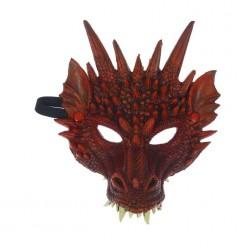"Маска ""Дракон"" красный (пенополиуретан) 28*21см"