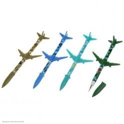 """Ручка фигурная """"Ракета крылатая"""" шариковая 20см (пластик)"""